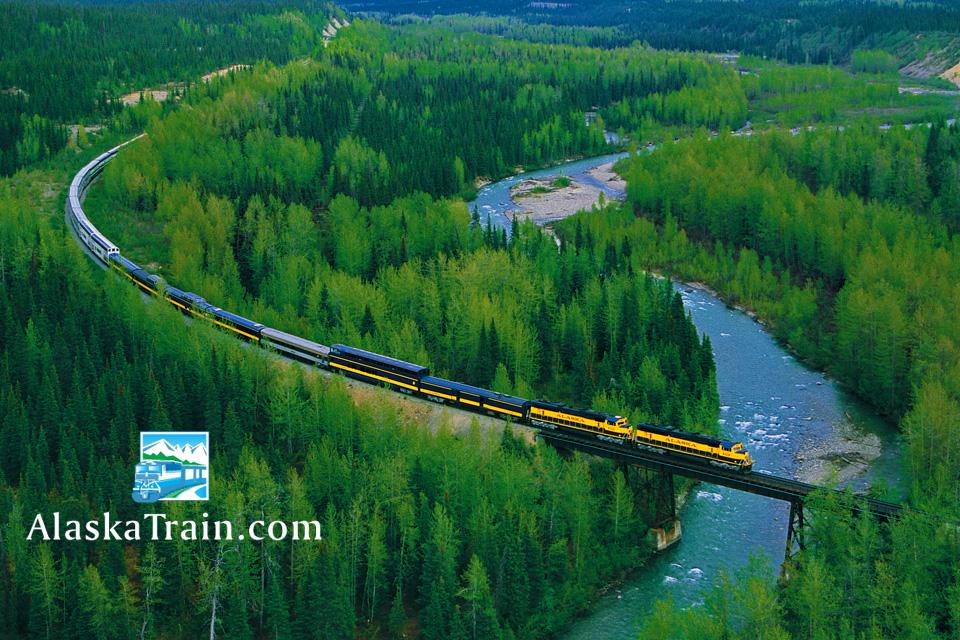 Alaska Railroad Denali Park To Talkeetna Train Alaskatrain Com