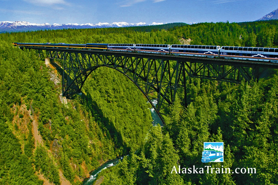 Alaska Railroad Routes And Train Information Alaskatrain Com