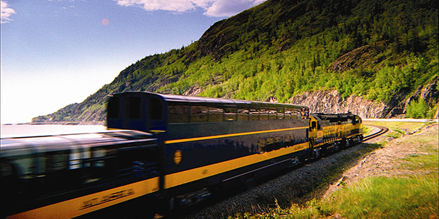 Alaska Railroad GoldStar Dome Train