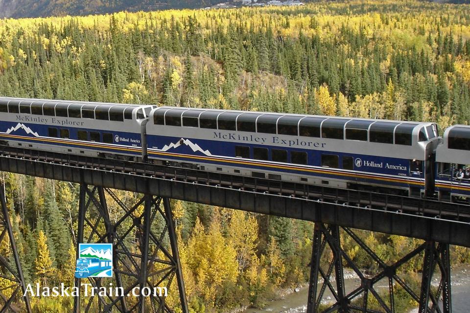 Mckinley Explorer Dome Train Service Alaskatrain Com