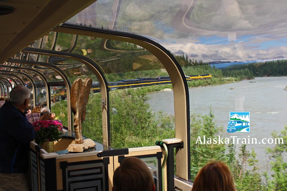 Best Alaska Railroad Dome Train Class Of Service Alaskatrain Com