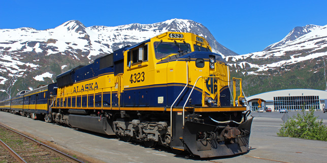 Whittier and Seward Alaska cruise transfers.