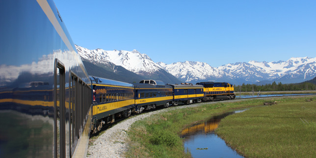 Alaska Railroad Adventure Class Train Service