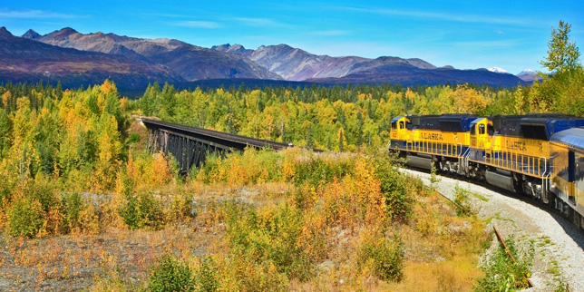 Denali Star Train Alaska