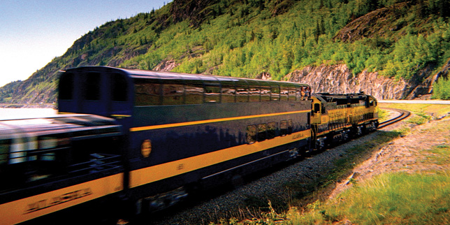 Alaska Railroad Goldstar Dome Train Service Alaskatrain Com