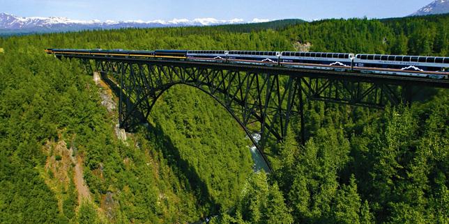 Anchorage Denali Train