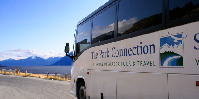 Alaska Railroad and Park Connection Motorcoach