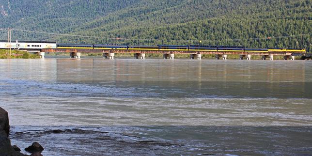 Talkeetna Anchorage Train