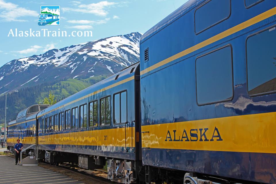 Alaska Railroad Coastal Classic Train Route Alaskatrain Com