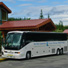 Park Connection Motorcoach departing Denali for Talkeetna.