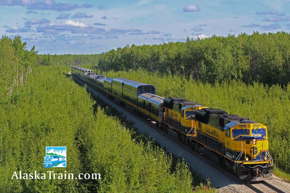 Alaska Railroad Routes And Train Information Alaskatrain Com