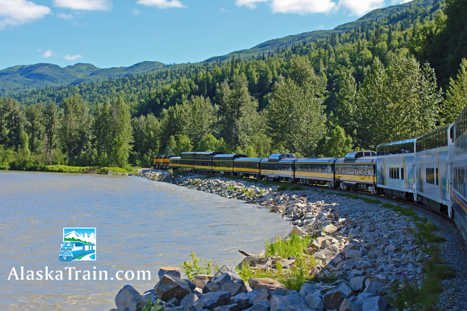 Wilderness Express Dome Train Service  AlaskaTrain.com
